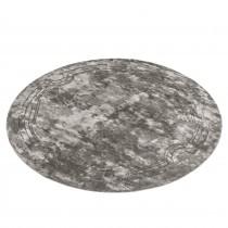 Palazzo Platinum Grey Round Rug