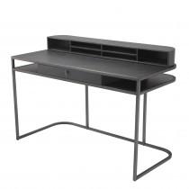 Highland Charcoal Oak Grey Desk