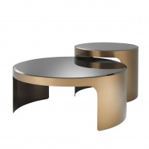 Piemonte Copper Coffee Table - Set of 2