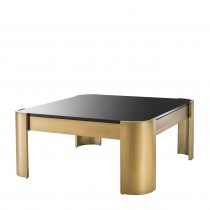 Courrier Brass Coffee Table