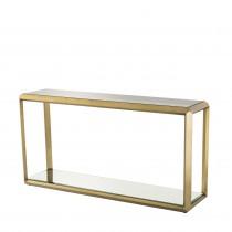 Callum Brass Console Table