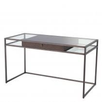 Napa Valley Woven Oak & Bronze Desk