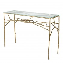 Antico Gold Console Table