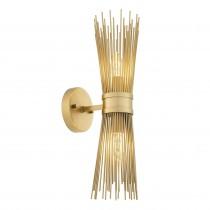 Romeo Double Brass Wall Lamp