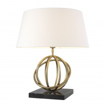 Edition Antique Brass Table Lamp