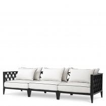 Ocean Club Black Outdoor Sofa 1