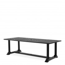 Bell Rive Black Outdoor Rectangle Dining Table