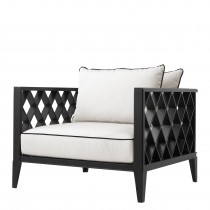 Ocean Club Black Outdoor Armchair