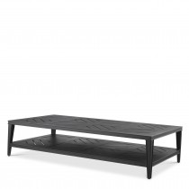 Bell Rive Black Outdoor Rectangle Coffee Table