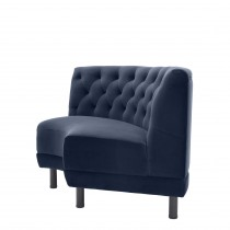 Rochdale Savona Midnight Blue Modular Sofa - Curved