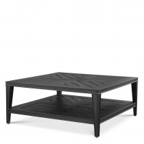 Bell Rive Black Outdoor Square Coffee Table