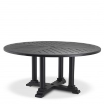 Bell Rive Black Outdoor Large Round Dining Table
