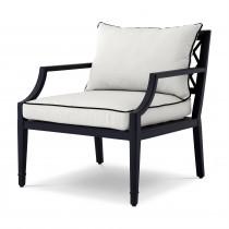 Bella Vista Black Outdoor Armchair