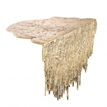 Grove Polished Brass Table Object