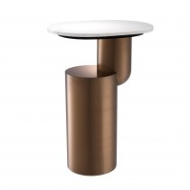 Tosca Brushed Copper Side Table