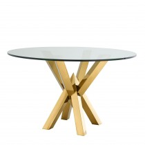 Triumph Gold Dining Table