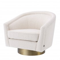 Catene Boucle Cream Armchair