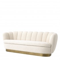 Mirage Faux Shearling Sofa