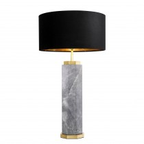 Newman Grey Marble Table Lamp