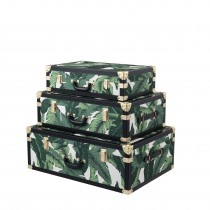 Bittersweets Mustique Green Trunks - Set of 3