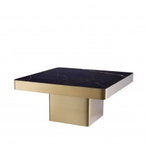 Luxus Brushed Brass & Ceramic Coffee Table