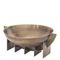 Bismarck Vintage Brass Bowl