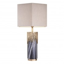 Miller Grey Marble Table Lamp