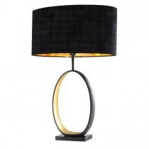 Saturnia Gunmetal Table Lamp