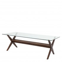 Maynor Classic Brown Dining Table