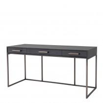 Larsen Charcoal Grey Oak Desk