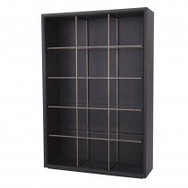 Hennessey Charcoal Grey Oak Cabinet