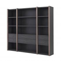 Canova Charcoal Grey Oak Cabinet