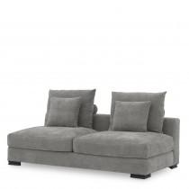 Clifford Clarck Grey 2-Seater Sofa