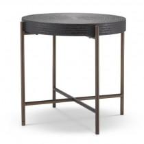 Nikos Gunmetal Side Table