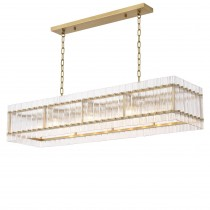 Ruby Rectangular Chandelier