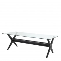 Maynor Classic Black Dining Table