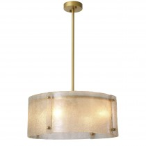 Chiara Antique Brass Chandelier