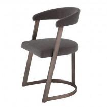 Dexter Abrasia Grey Brown Dining Chair