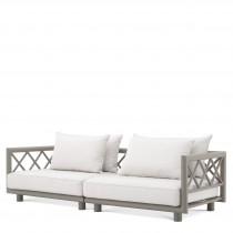 Mandelieu Greige Sofa
