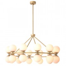 Hutchinson Antique Brass Chandelier