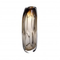 Sianni Large Brown Glass Vase