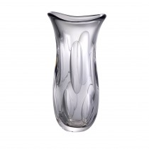 Matteo Large Grey Glass Vase