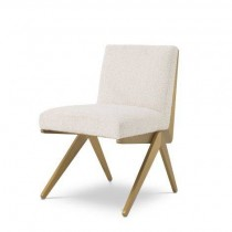 Fico Boucle Cream Dining Chair