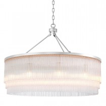 Hector Large Nickel Chandelier