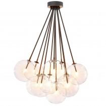 Molecule Bronze Highlight Ceiling Lamp