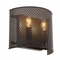 Morrison Small Bronze Highlight Wall Lamp