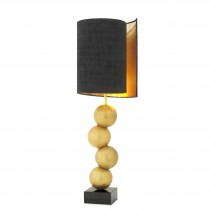 Aerion Antique Brass Table Lamp