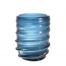Xalvador Large Blue Glass Vase