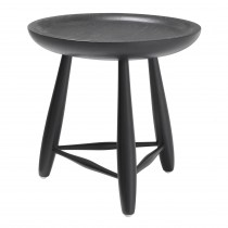 Ramirez Large Classic Black Side Table