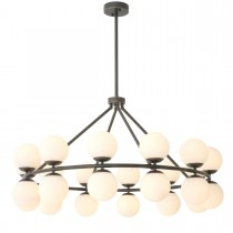Hutchinson Bronze Highlight Chandelier